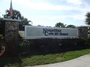 Neapolitan Cove RV Entrance